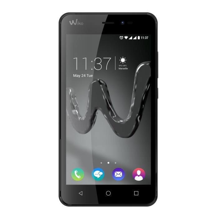 "Smartphone 5"" Wiko Freddy - 8Go de ROM, 1Go de RAM, 2000mAh - Noir"