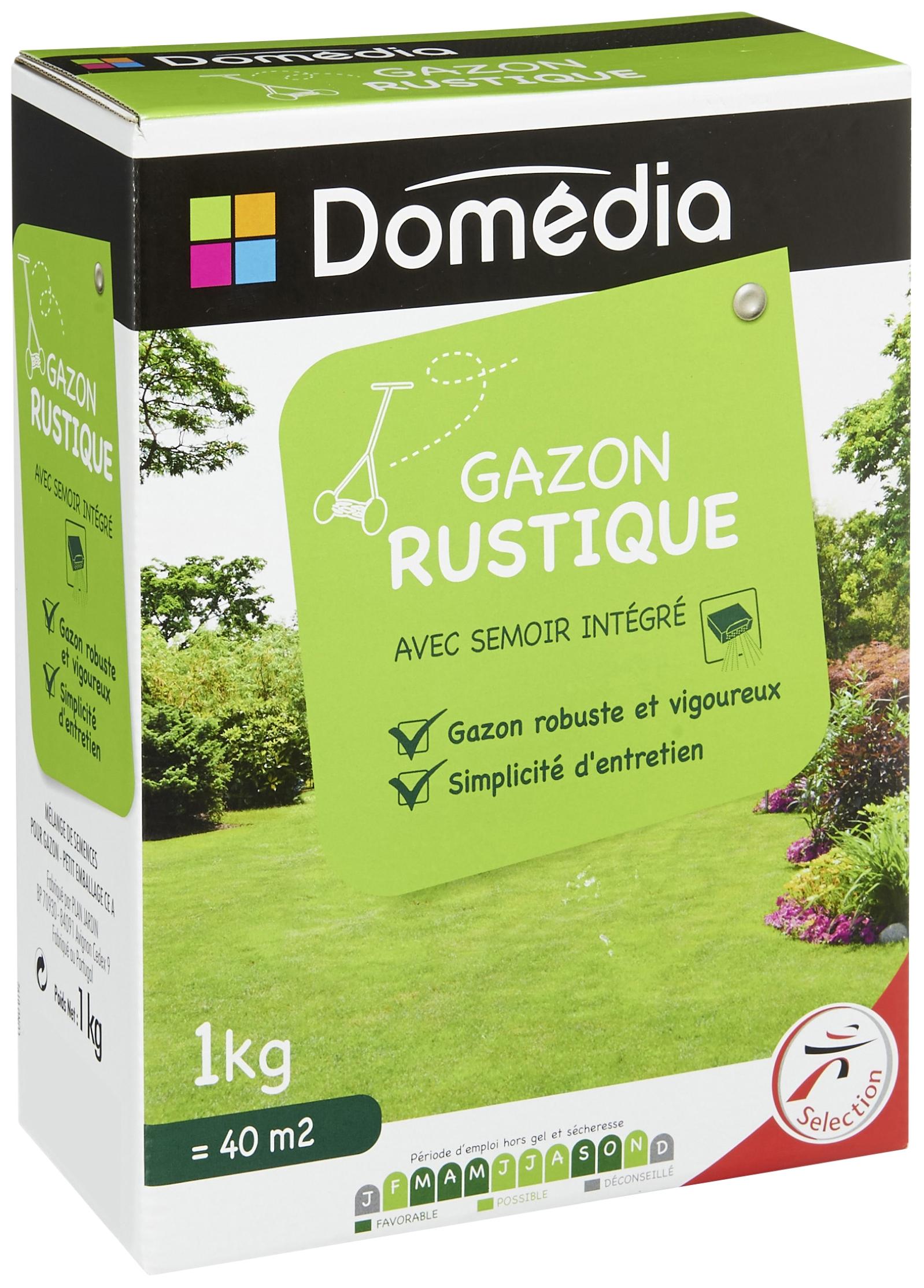 Gazon rustique Domédia 5 Kg - Hyper Intermarché