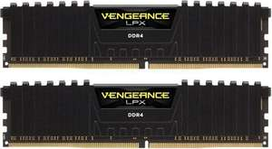 Kit mémoire DDR4 Vengeance LPX Black - 16 Go (2 x 8 Go), 2666MHz