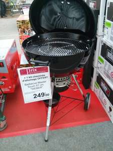 barbecue weber master touch 57cm kit chemin e d 39 allumage. Black Bedroom Furniture Sets. Home Design Ideas