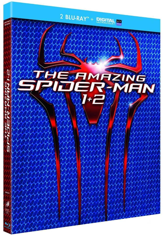 Coffret Blu-Ray The Amazing Spider-Man 1 et 2