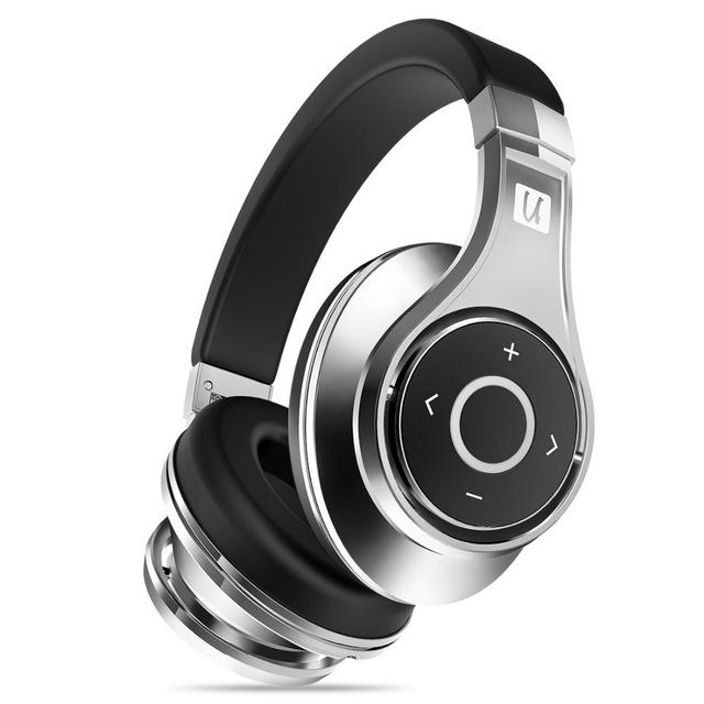 Casque Bluetooth Circum-Auriculaire Bluedio U (UFO) - 3D Sound - Alliage D'aluminium