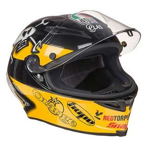 Sélection de casques  Moto - Ex : Corsa AGV - Pinlock inclus - multicolore à 259€