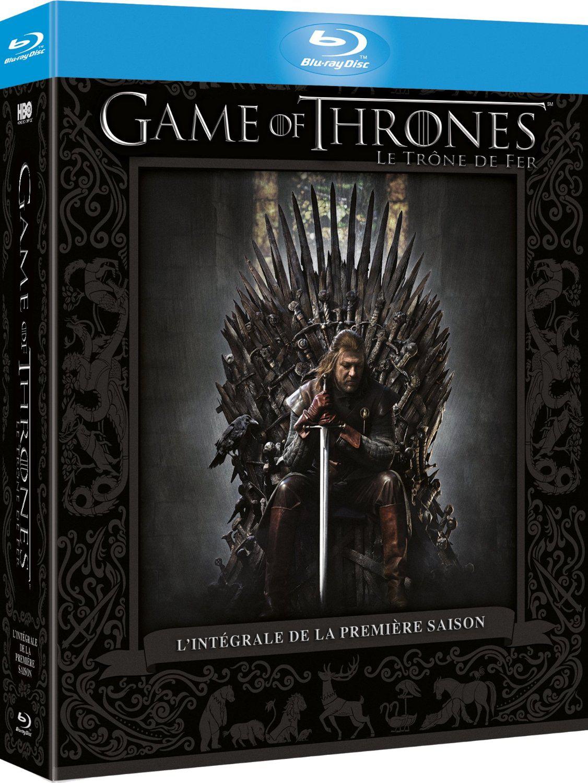 Jusqu'à 65% de réduction sur une sélection de DVD et Blu-Ray - Ex : Coffret Blu-Ray Game of Thrones - Saison 1 - Le trône de fer