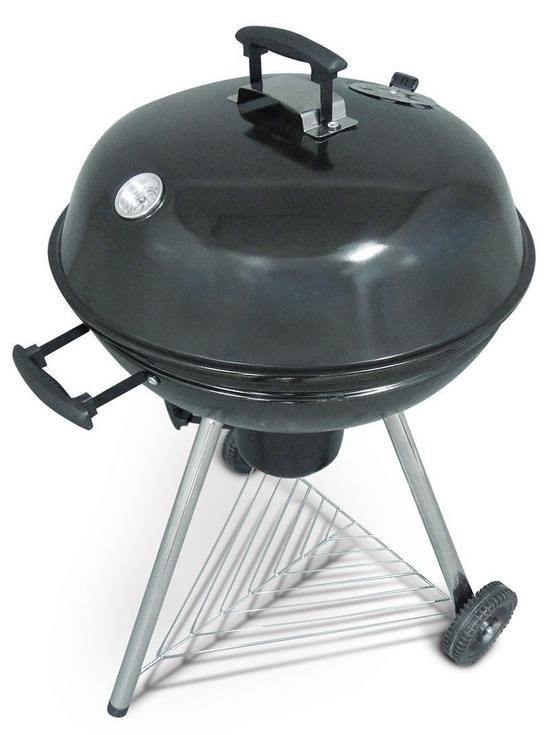 Barbecue charbon de bois Alice's Garden Georges - 57cm - noir