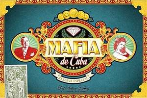 Jeu de société Asmodée Mafia de Cuba - Bluffez, manipulez et soyez rusé ! - LMMAF01FR