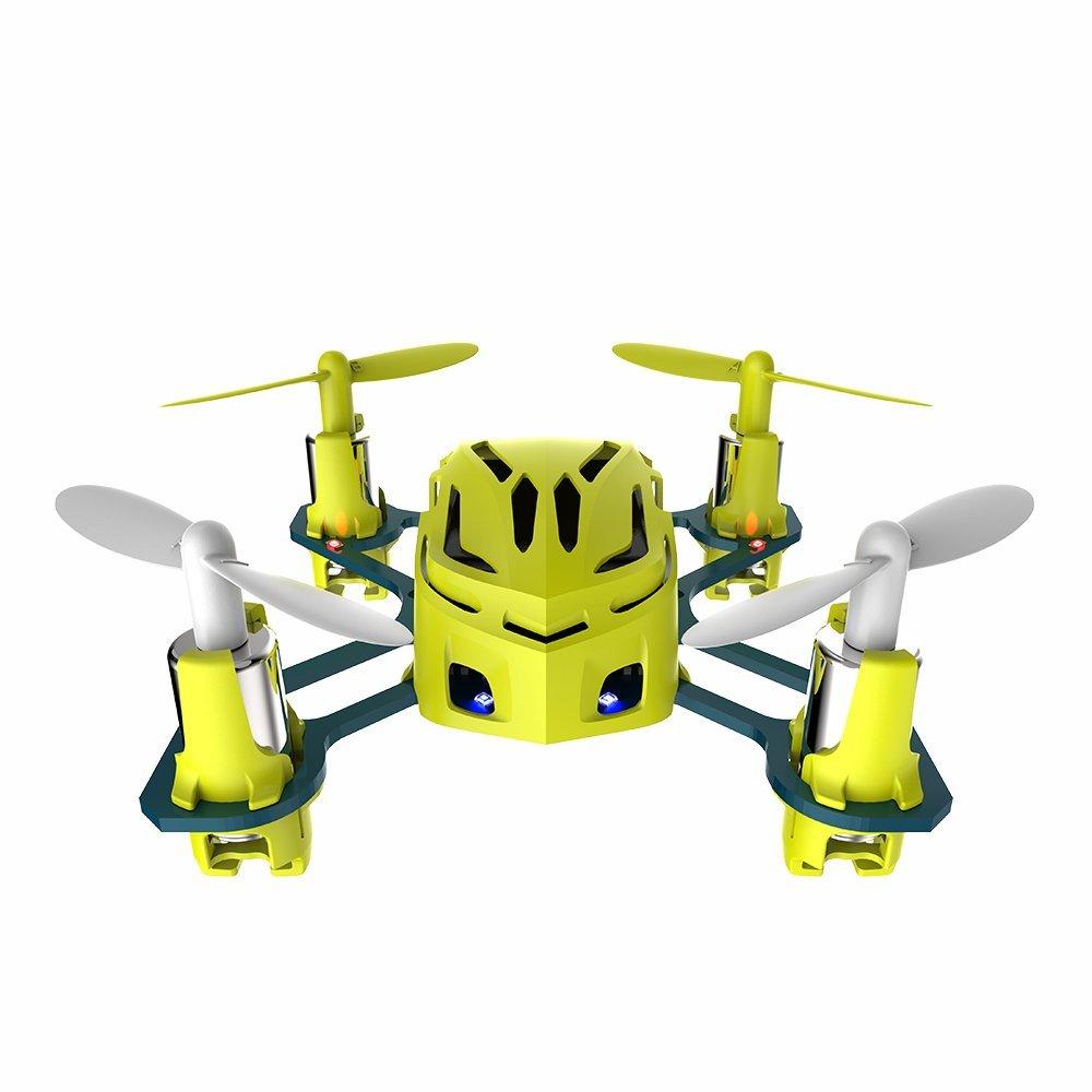 Mini Drone Quadricoptère Hubsan H111 NANO Q4 - Jaune (Vendeurs tiers expédié par Amazon)