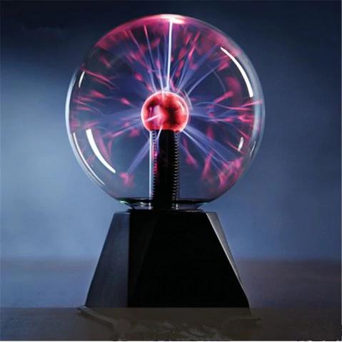 """Lampe sphère plasma 6"""" (17 x 17 x 25 cm)"""