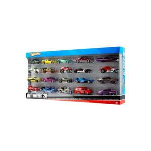 Pack 20 voitures Hot Wheels (+1 gratuite)
