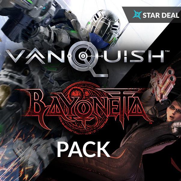 Vanquish + Bayonetta sur PC (Dématérialisés - Steam)