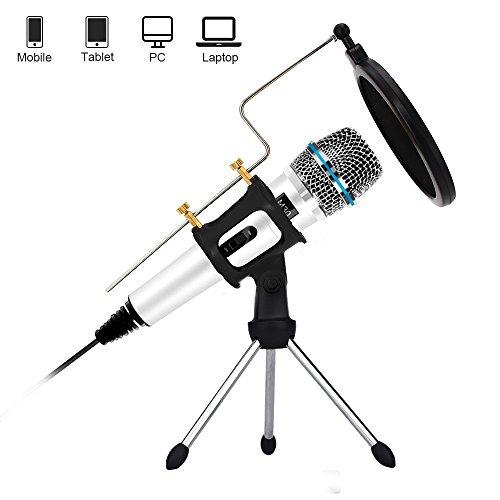Microphone pour PC XIAOKOA - Blanc (vendeur tiers)