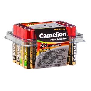 Boite de 24 piles alcalines Camelion AA (LR6) ou AAA (LR03)