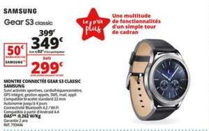 Montre connectée Samsung Gear S3 Classic (via ODR de 50€)