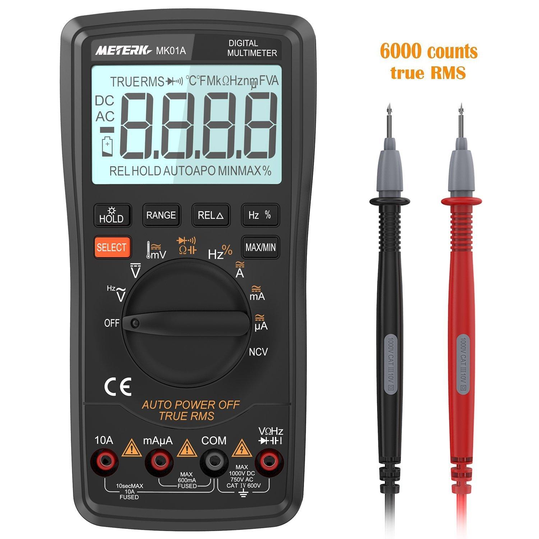 Multimètre numérique Meterk (vendeur tiers)