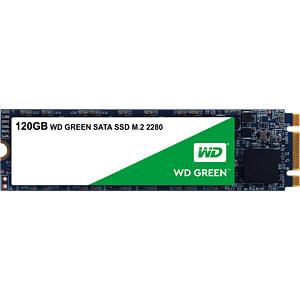 SSD Interne WD Green WDS120G2G0B - 120 Go, M.2 SATA