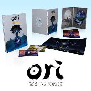 Ori and the Blind Forest - Édition Définitive Version Collector sur PC (Bande Originale + Jeu + Poster + Steelbook)