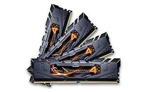 Kit Mémoire G.SKill Ripjaws 4 32Go (4x8Go) - DDR4-2800 CL16 (F4-2800C16Q-32GRK)