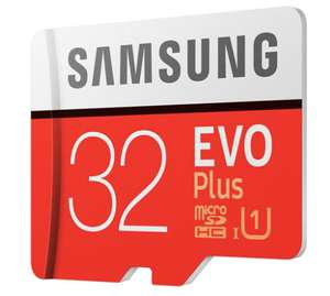 Carte Micro SDXC Samsung EVO Plus U1 - 32 Go