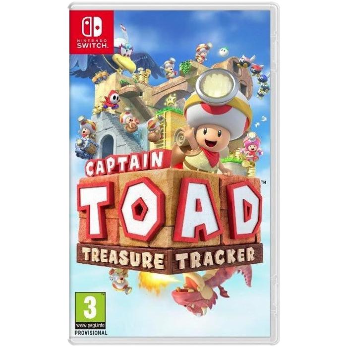 [Pré-commande] Captain Toad Treasure Tracker sur Nintendo Switch