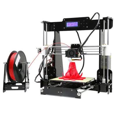 Imprimante 3D de Bureau Anet A8 Noir (Prise EU - Entrepôt : république tchèque )
