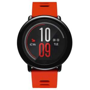 "Montre Connectée 1.34"" Xiaomi Huami Amazfit Pace (Version Anglaise) - RAM 512 Mo, ROM 4 Go (Rouge)"