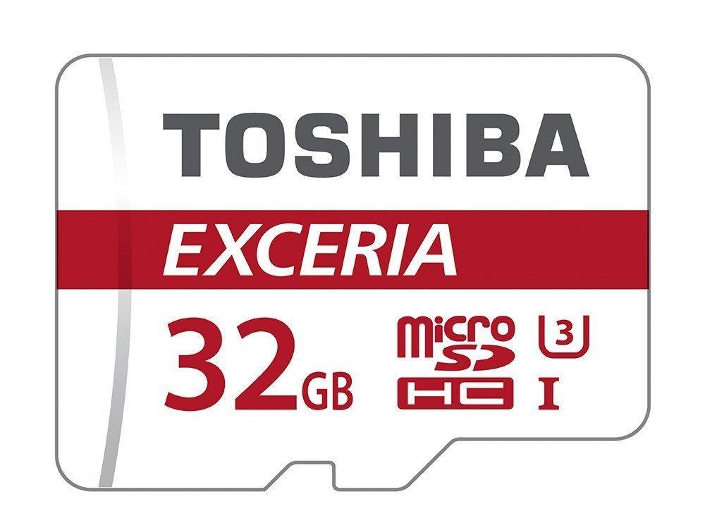 Carte mémoire microSDHC Toshiba Exceria M302 U3 - 32 Go avec adaptateur SD (vendeur tiers)
