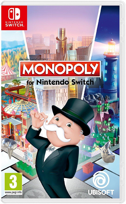 Jusqu'à -75% sur une sélection de jeux-vidéo - Ex : Monopoly sur Nintendo Switch à 19.99€