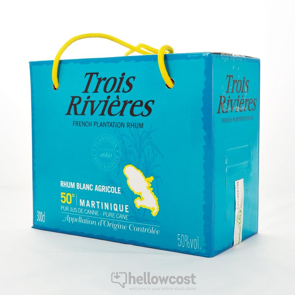 Box Rhum Blanc 50% Trois Rivieres  - 3L