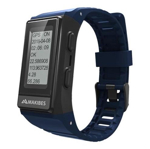 Montre connectée GPS Makibes G03S avec écran IPS, Fréquence cardiaque