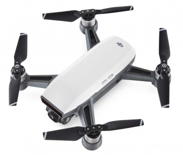 Mini Drone Quadricoptère BNF DJI Spark Blanc - WiFi FPV, Caméra Full HD / 12 MP