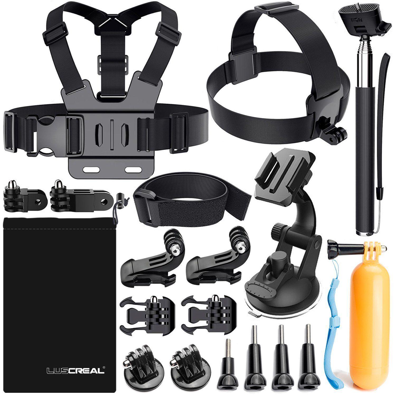 Kit de 19 Accessoires Luscreal pour GoPro (Vendeur Tiers)