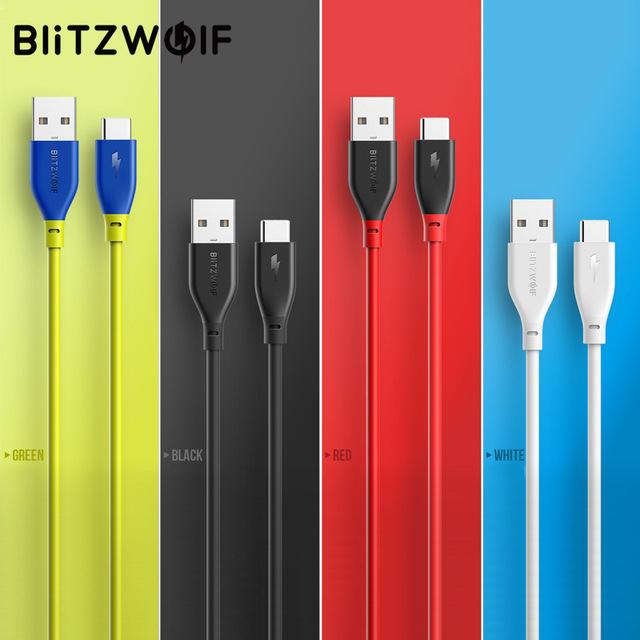 Câble USB Type C / USB BlitzWolf - 3A 30cm