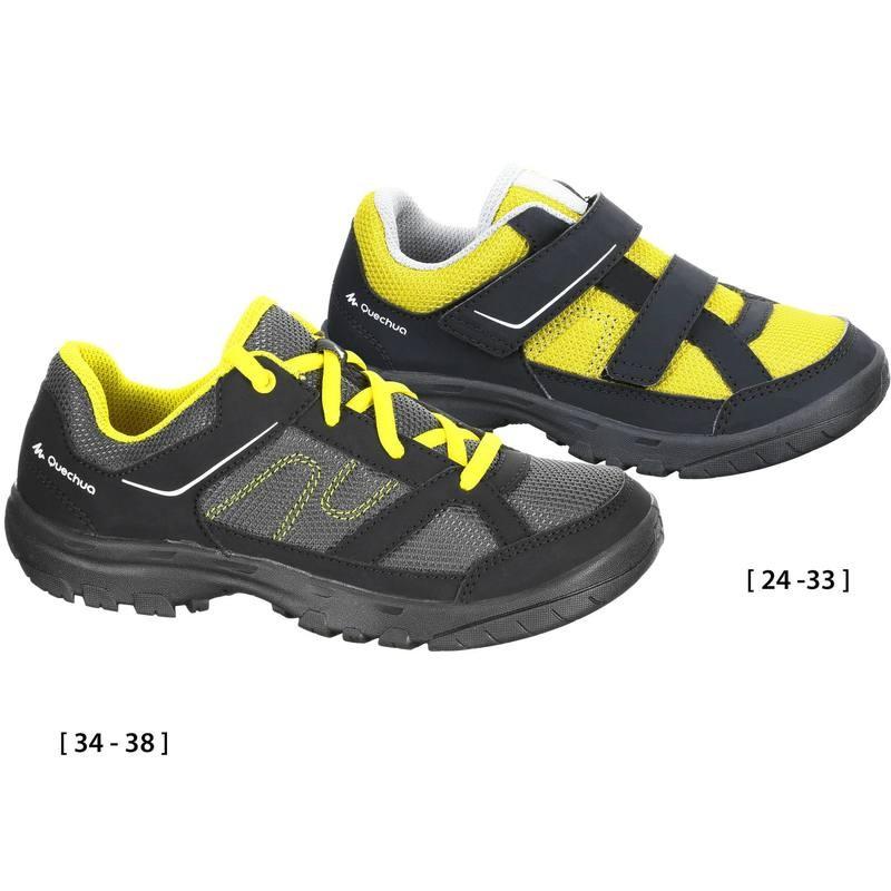 Chaussures de Randonnée Enfant Arpenaz 50 JR - Jaune