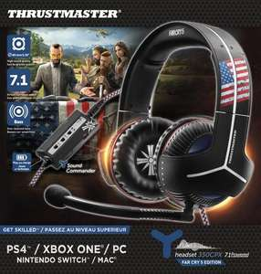 Far Cry 5 sur PS4 ou Xbox One + Casque audio Thrustmaster Y-300CPX Far Cry 5