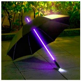 Parapluie style sabre laser Star Wars