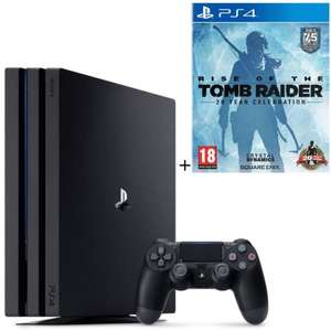 Console Sony PS4 Pro + Qui-es-tu ? (Dématérialisé) + Rise of the Tomb raider
