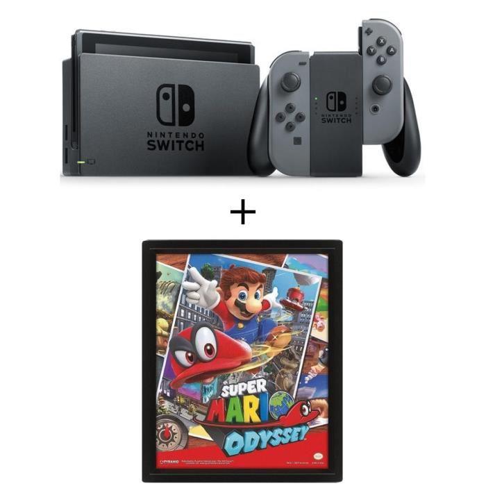 Console Nintendo Switch + Cadre Mario 3D