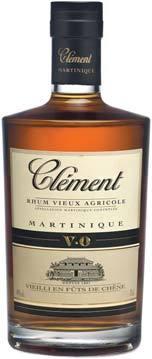 Bouteille de Rhum Vieux Agricole Clément VO - 70cl