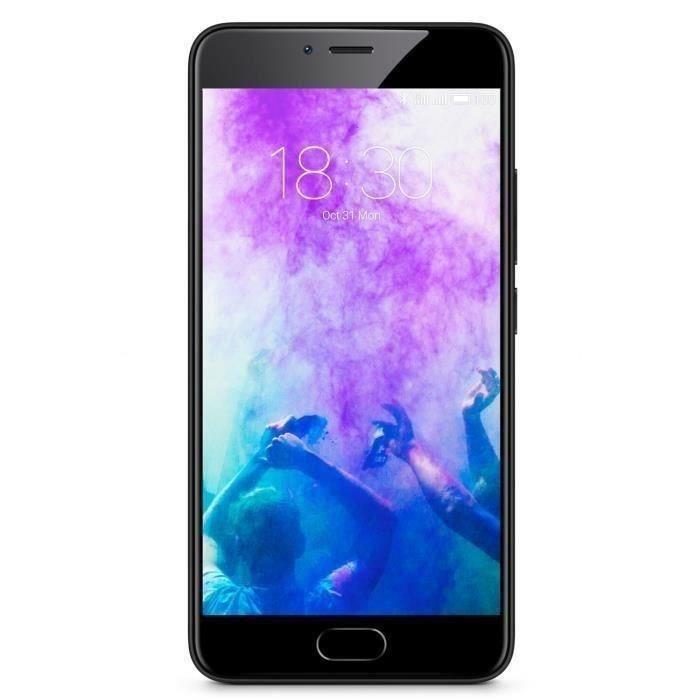 """Smartphone 5.2"""" Meizu M5 Noir - 16 Go, Dual SIM, B20 (via ODR de 20€)"""