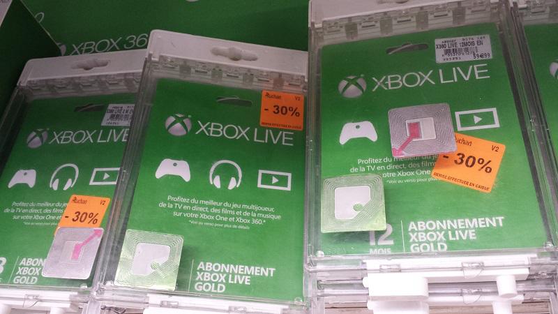 30% de réduction sur les abonnements PS + et Xbox live Gold
