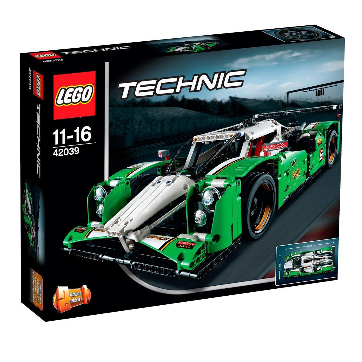 Lego technic 42039 - Prototype de course 2en1 (4x4 modèle secondaire)