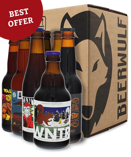 Pack de 20 bières artisanales (différentes variétés)