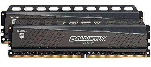 Kit mémoire DDR4 Crucial Ballistix Tactical - 16 Go (2 x 8 Go), 2666 Mhz