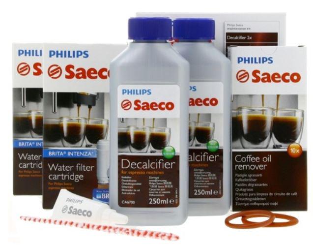 Kit complet d'entretien pour machine à café automatique Saeco