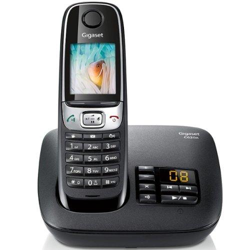 Téléphone Sans-fil Gigaset C620A DECT/GAP avec Répondeur