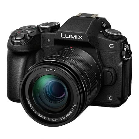Appareil photo hybride à objectif interchangeable Panasonic Lumix DMC-G80 (16 MPix, 4K) + Objectif G Vario 12-60 mm f/3.5-5.6 ASPH Power OIS