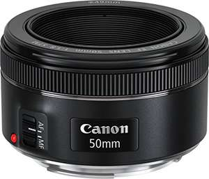Objectif Canon EF 50mm compatible EOS - f/1.8 STM