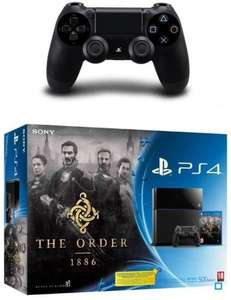 Pack Console Sony PS4 + The Order 1886 + 1 Manette supplémentaire