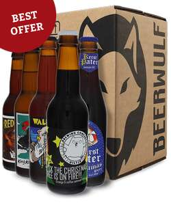 Pack de 16 Bouteilles de Bières différentes (Beerwulf)