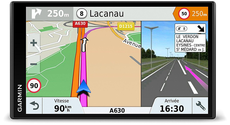 "GPS auto 6.95"" Garmin DriveSmart 61 LMT-S EU - carte Europe avec MAJ à vie, Bluetooth / Wi-Fi"